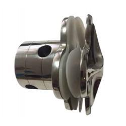 Grampon serie DMCK con nudo para cable/varilla