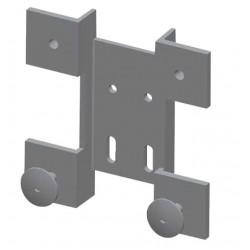 Grampón trasdosado de aluminio de 4 brazos
