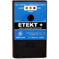 Detector de capa bajo emisivo (Low-e) en Dobles y Triples Acristalamientos