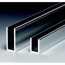 """Perfiles en """"U"""" de Aluminio"""