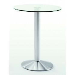 Patas mesa de vidrio pegado UV