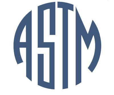 Certificaci�n ASTM