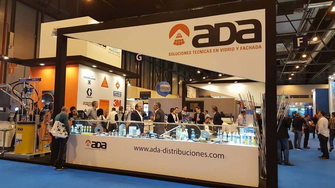 Stand de Ada Distribuciones Técnicas en Veteco 2016