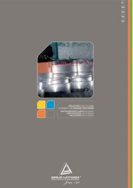 Catálogo Adelio Lattuada: Canteadoras Rectilíneas