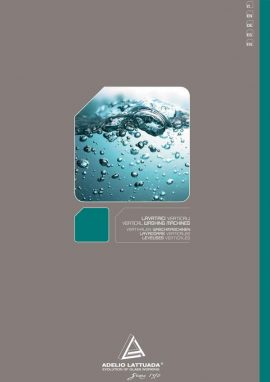Catálogo Adelio Lattuada: Lavadoras Verticales