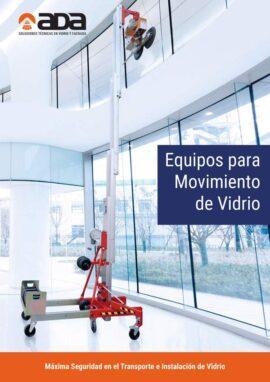 Folleto Ada Distribuciones: Equipos para Movimiento de Vidrio