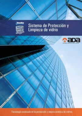 Folleto Ada Distribuciones: Limpieza y Protección del Vidrio