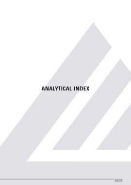 Catálogo Logli Massimo: Índice Analítico 2018-2020