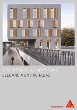 Catálogo Sika: SikaTack Panel, Pegado de Paneles en Fachada