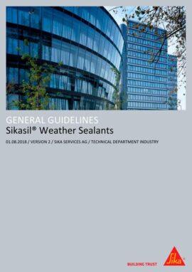 Manual Aplicación Silicona de Estanqueidad en Fachada Sika (Inglés)