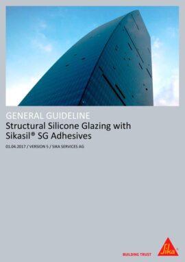 Manual Aplicación Siliconas para Pegado Estructural en Fachada Sika (Inglés)