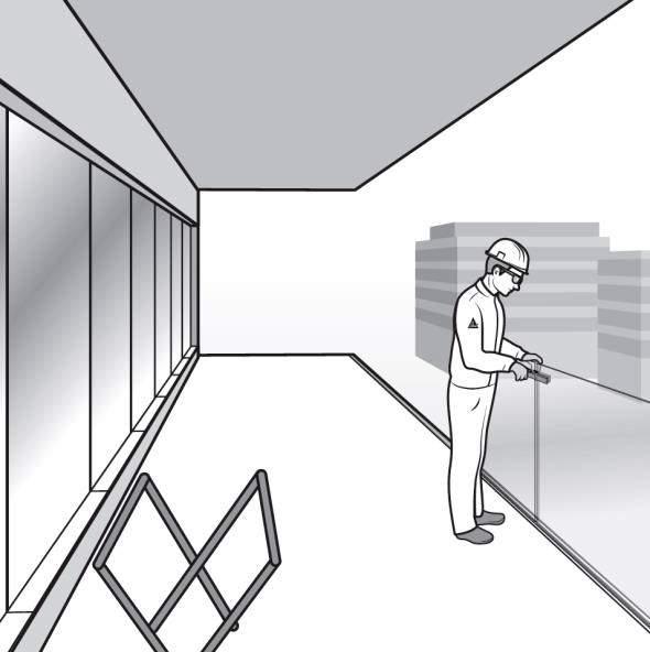 Paso 10. Instalación de los paneles de vidrio adyacentes de la barandilla de fijación oculta